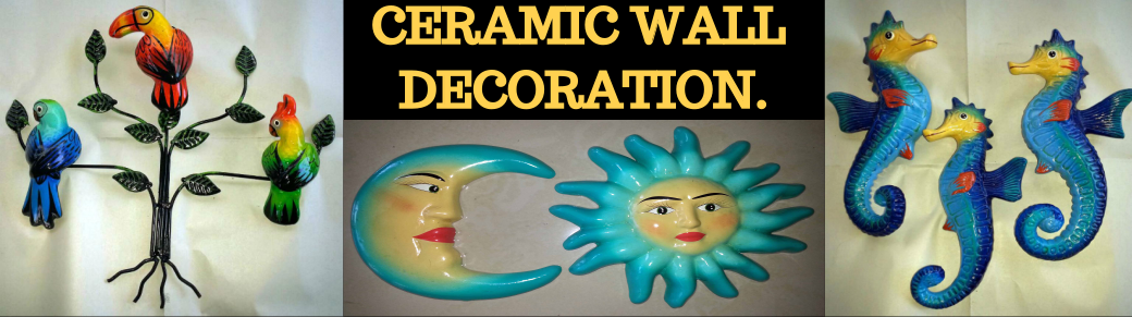 Ceramic wall decorations,Wholesale from Mexico, Mexican products wholesale, Wholesale Mexican arts and crafts, Mexican handcrafts wholesale, preColumbian replicas, Wholesale Mexican pottery, Wholesale Mexican ceramics, Maya art replicas, Aztec art replicas, Traditional Mexican arts and crafts
