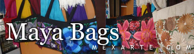 Maya Bags,Wholesale from Mexico, Mexican products wholesale, Wholesale Mexican arts and crafts, Mexican handcrafts wholesale, preColumbian replicas, Wholesale Mexican pottery, Wholesale Mexican ceramics, Maya art replicas, Aztec art replicas, Traditional Mexican arts and crafts