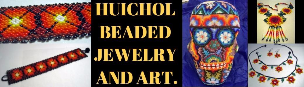 Huichol Beaded Jewelry and Art,Wholesale from Mexico, Mexican products wholesale, Wholesale Mexican arts and crafts, Mexican handcrafts wholesale, preColumbian replicas, Wholesale Mexican pottery, Wholesale Mexican ceramics, Maya art replicas, Aztec art replicas, Traditional Mexican arts and crafts